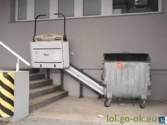 bezbariérovosť schody