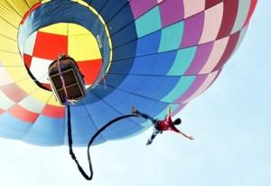 bungee jumping - balón