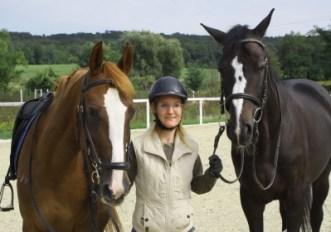 paradrezúra - dva kone