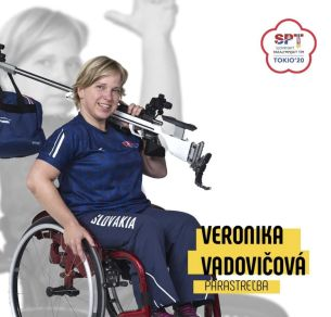 Veronika Vadovičová - paralympiáda Tokio 2020
