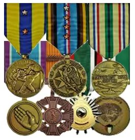 Navy Expeditionary Medal(6); Armed Forces Expeditionary Medal(8); Southwest Asia Service Medal; Humanitarian Service Medal; Republic of Vietnam Meritorious Unit Citation (Gallantry Cross Medal with Palm); Kuwait Liberation Medal (Saudi Arabia); Kuwait Liberation Medal (Kuwait)