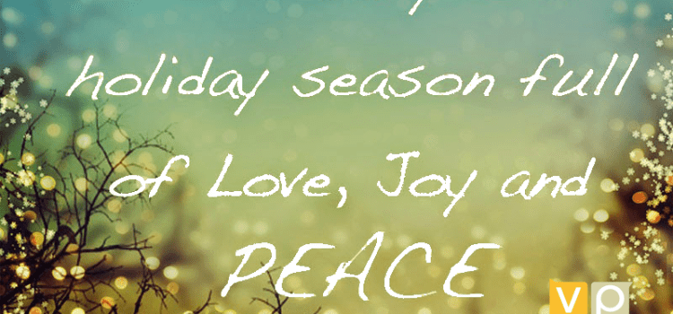 Wishing you LOVE, JOY and PEACE