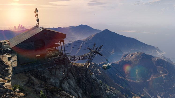 GTA V PC mountains