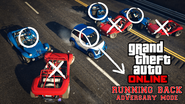 Grand Theft Auto Online - Running Back Mode
