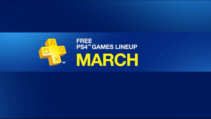 PlayStation Plus March