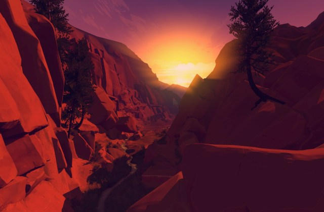 Firewatch features an in-game camera which all these photos were captured from.