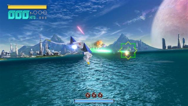 Star Fox Zero - Corneria Water