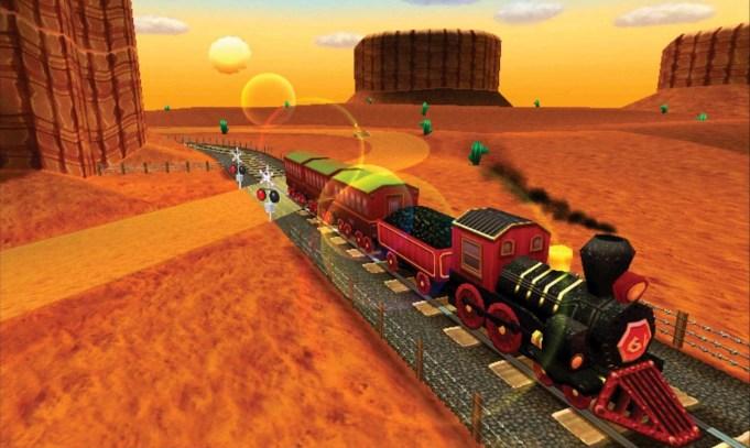 Mario Kart 8 DLC - Kalimari Desert