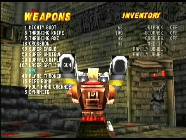 Duke Nukem TtK Weapons