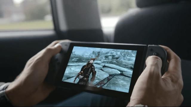 Nintendo Switch - Skyrim in a Cab