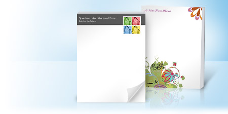 Personalized Notepads Amp Memo Pads Vistaprint