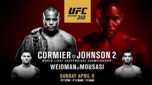 ufc 210 full fight video. Cormier vs johnson 2