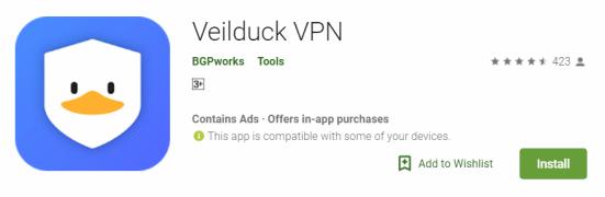 Veilduck VPN For Windows