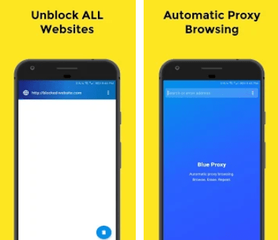 Blue Proxy Unblock for PC