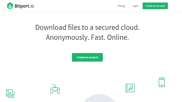 Bitport.io - Best cloud based torrent site