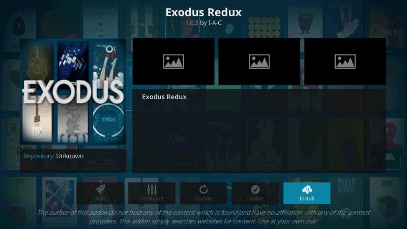 install exodus redux on firestick