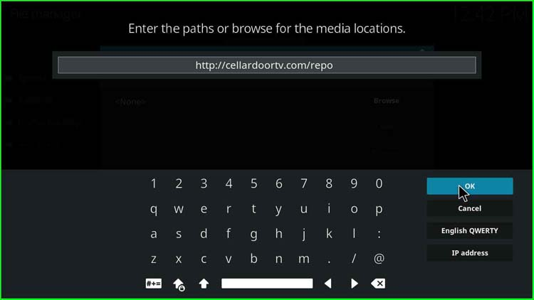 http://cellardoortv.com/repo path for Numbers Kodi Addon repo