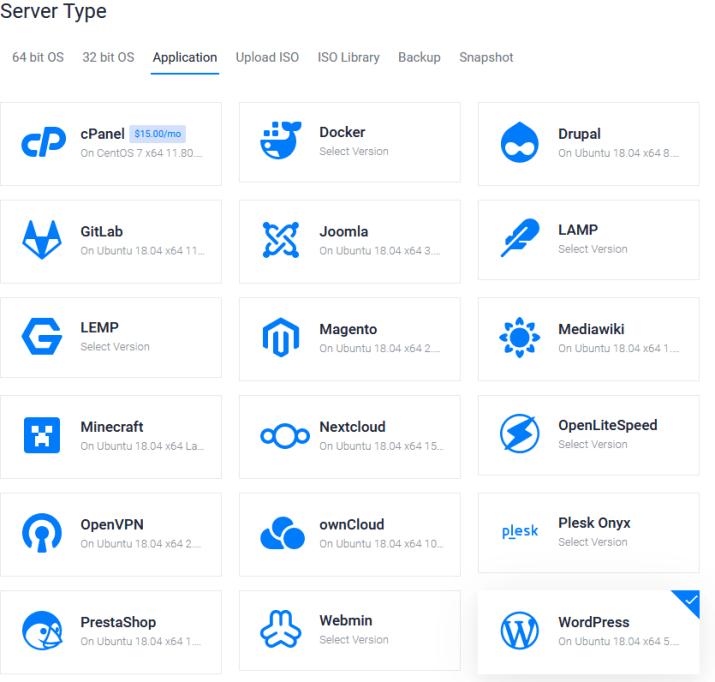 Wordpress Deploy Servers - Vultr com