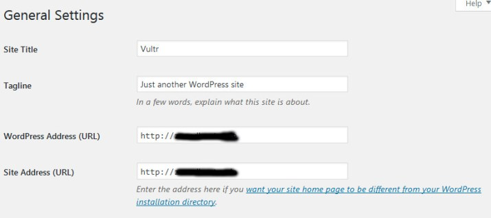 Wordpress Webiste On Vultr VPS