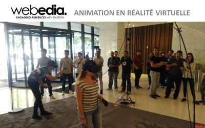 Animation VR  chez Webedia