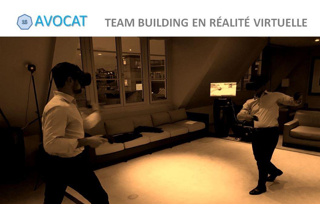 Team building en réalité virtuelle à Paris chez les avocats de G.L.N