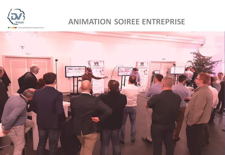 Idée de thème pour soirée d'entreprise – la réalité virtuelle à Lille pour DVG