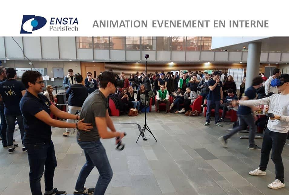 Location casque réalité virtuelle sur la campus de l'ENSTA Paris Tech