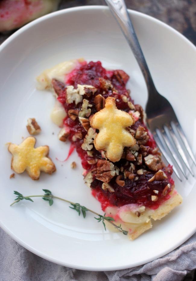Cranberry Brie Tart Recipe- VRAI Magazine