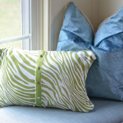 Old Clothing turned into New Pillows -- VRAI Magazine