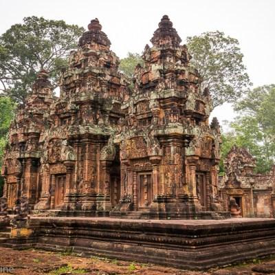 Banteay Srei Temple Cambodia -- VRAI Magazine