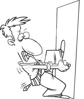 Débloquer porte intérieure sans serrurier