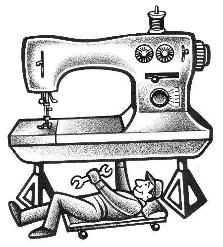 Réparer sa machine à coudre