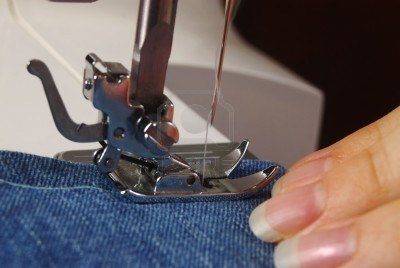 Astuce pour piquer du jean à la machine à coudre