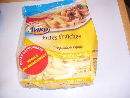 Frites remboursés (Aviko)