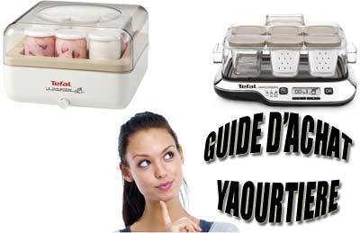 Guide d'achat machine à yaourts