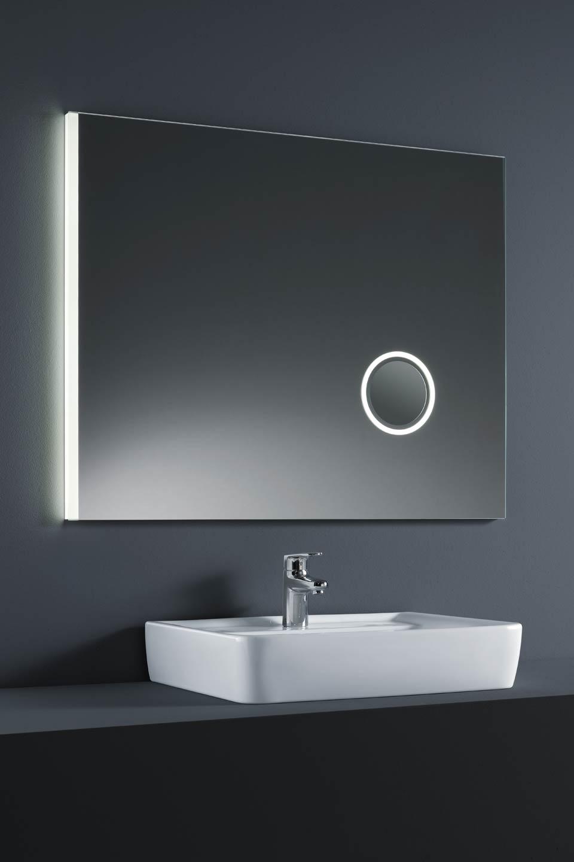 Miroir Lumineux Led Avec Partie Grossissante Integree Baulmann Leuchten Luminaire De Prestige Fabrique En Allemagne Ref 12070055