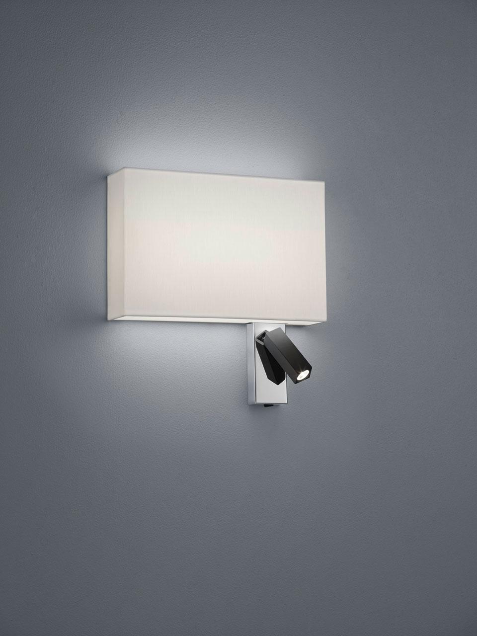 Bedside Wall Lamp Reading Lamp Rectangle Shade Baulmann Leuchten Luxury Lightings Made In Germany Ref 17110008