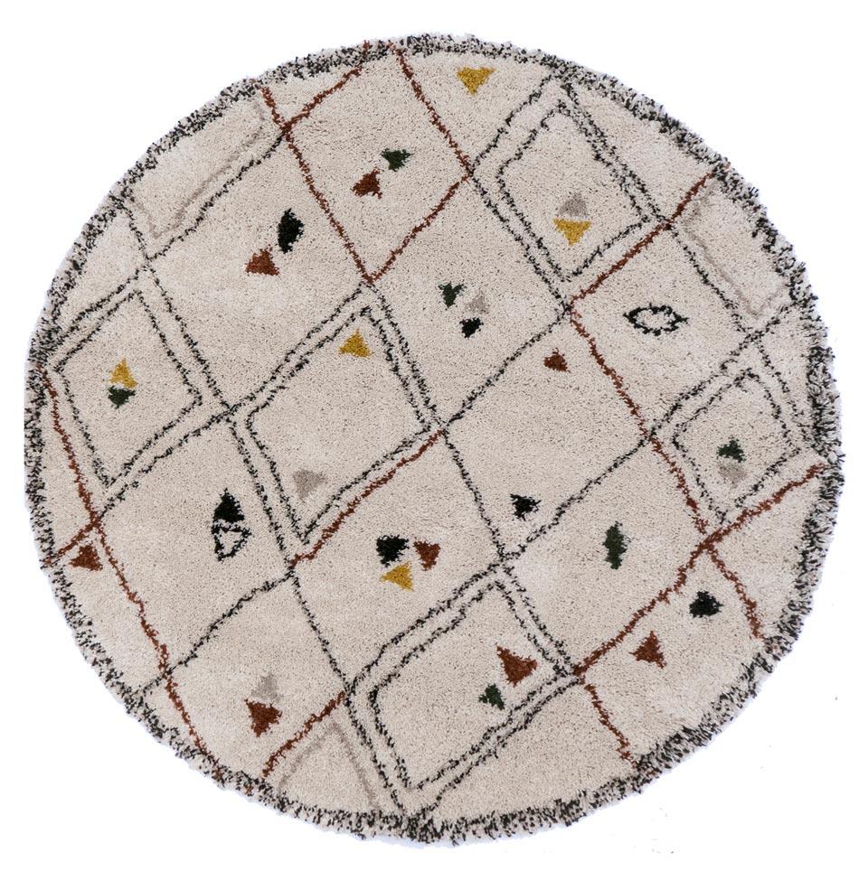 tapis epais motifs ethniques existe en rectangulaire
