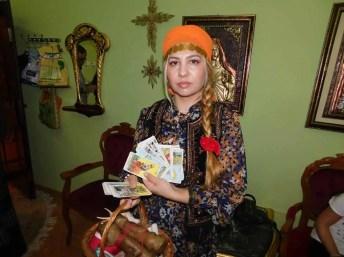 Tamaduitoarea Suita cu cartile de tarot