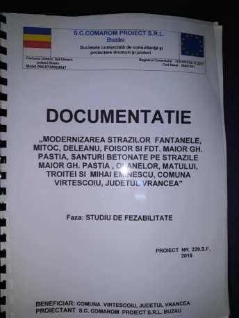 documentatie strazi virtescoiu