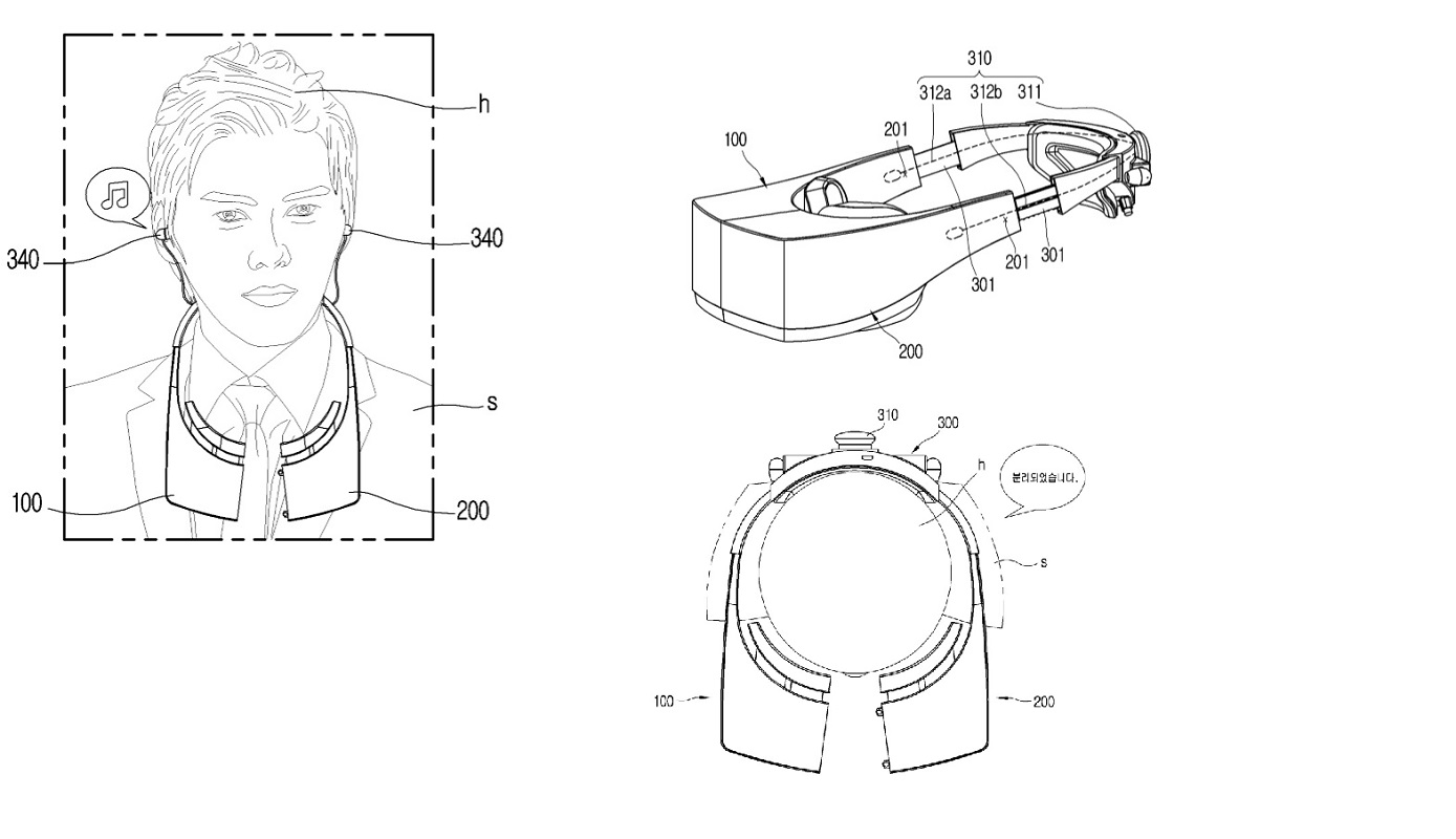New Lg Vr Headset Patents Reveal Redesigned Way To Take Off The Headset
