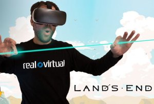 Lands End VR Game Screenshot