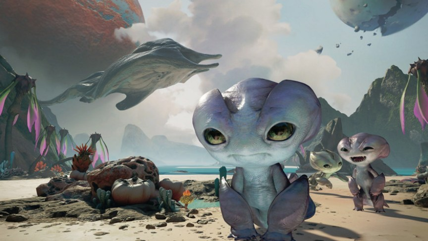 Farlands alien - A free experience for the Oculus Rift