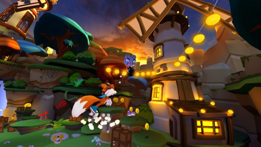 Lucky's Tale - Free game for the Oculus Rift