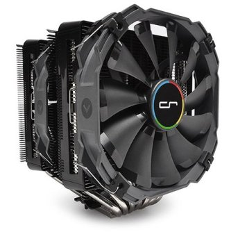 fan for overclocked processor on VR computer for virtual reality
