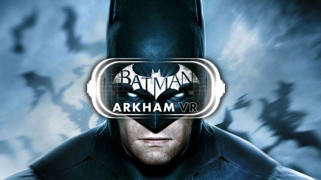 Batman Arkham VR For Oculus Rift Batman W VR Headset Graphic