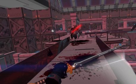 sairento VR review sword gameplay