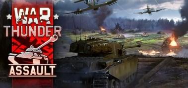 vive top 20 free war thunder assault tank with war planes overhead