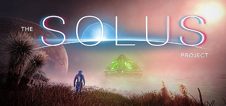 the solus project planetscape with alien pyramid