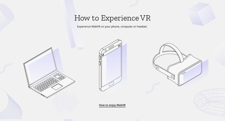 how to enjoy webvr image laptop mobile headset